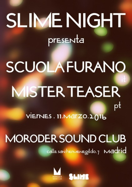 Moroder Sound Club (Madrid) - 11.mar.2016