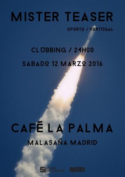 Café La Palma (Madrid) - 12.mar.2016